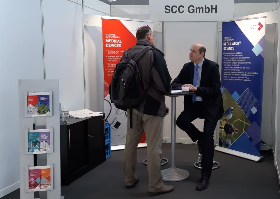 SCC booth at T4M